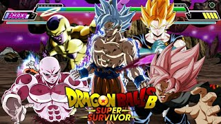 NEW ☆MASTERED ULTRA INSTINCT GOKU☆ DRAGON BALL Z SHIN BUDOKAI 2 MOD SUPER SURVIVOR MOD