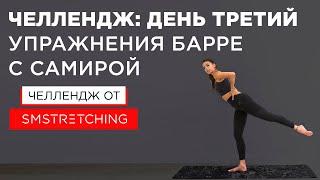Челлендж, день третий: тренировки барре с Самирой Мустафаевой 🥕 | SM Stretching