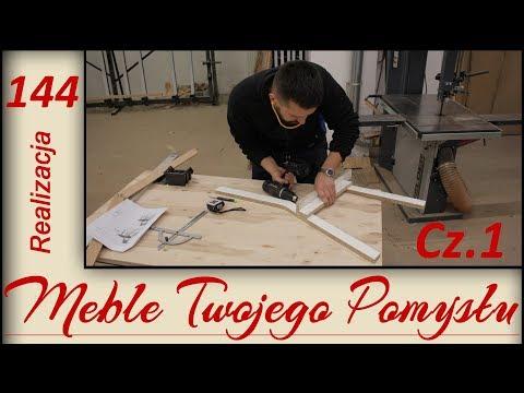 Jak zrobić drewniane krzesło, wycinanie i frezowanie nóg z jesionu / how to make an ash chair
