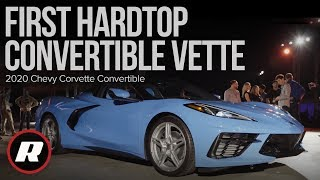 2020 Chevy Corvette convertible: A look at the first hardtop convertible Vette