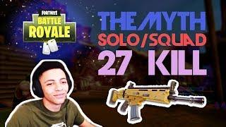 TSM_Myth 💪27 Kill Solo/Squad Game💪Highlights (Fortnite)
