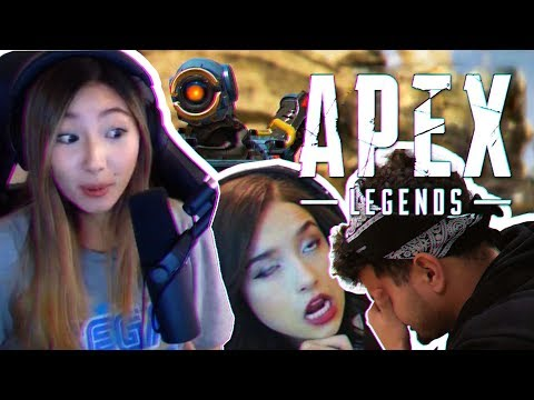 WE'RE INTING! ft. Fedmyster & Pokimane | XCHOCOBARS APEX LEGENDS