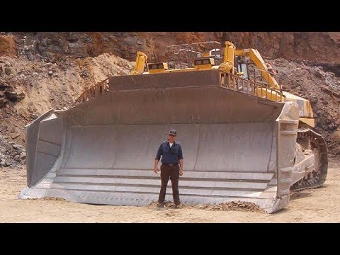 Самые огромные бульдозеры в мире! НАСТОЯЩИЕ РАЗРУШИТЕЛИ!