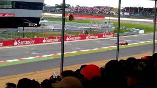 F1 british grand prix silverstone qualifying 2011 from pit straight