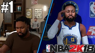 NBA 2K18 MyCareer Mode Ep. 1 - Shoe Deal + First NBA Game!!!