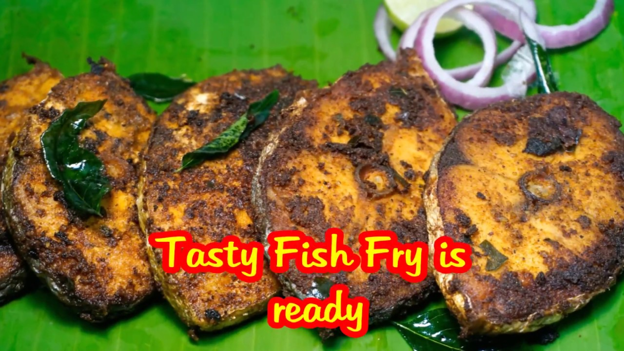 King fish fry spicy fish fry fish fry recipe south for King fish recipe