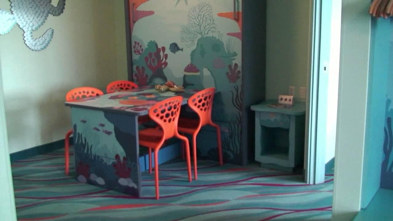 Disney\'s Art of Animation Resort Finding Nemo Family Suite Detailed ...