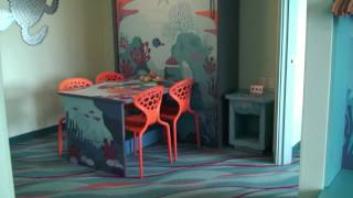 disney s art of animation resort finding nemo family suite detailed room tour walt disney world