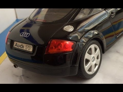 audi tt mk1 in scale 1 18 by revell model car youtube. Black Bedroom Furniture Sets. Home Design Ideas
