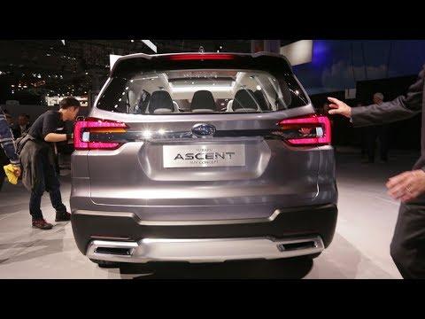 2019 Subaru Ascent 3-row SUV to debut at 2017 LA Auto Show