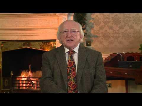 Aitheasc na Nollag agus na hAthbhliana ó Uachtarán na hÉireann