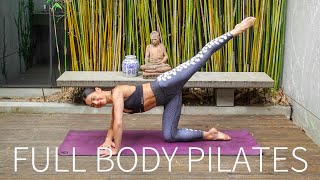 40 MIN FULL BODY WORKOUT || Intermediate Pilates Class