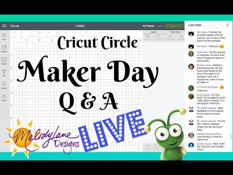Cricut Circle and other Discounts LIVE Maker Day