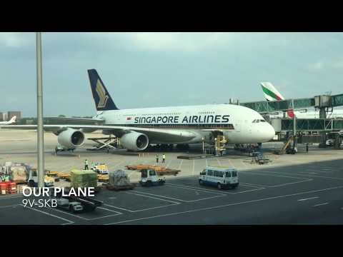 Amazing Singapore Airlines A380 Business Class Experience | Beijing - Singapore