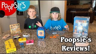 Heist, Pairzi, and more! – Poopsie's Kid Review
