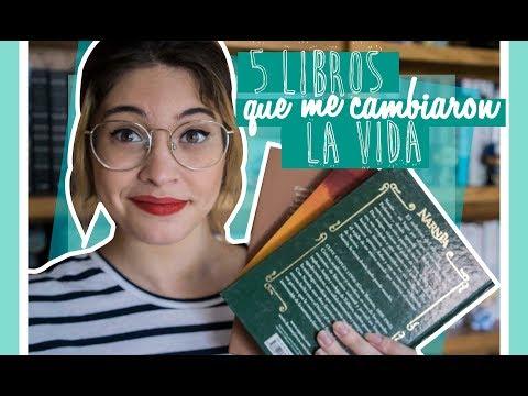 5 LIBROS QUE ME CAMBIARON LA VIDA || Bicheando Libros