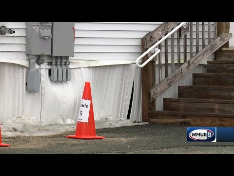 Modular classrooms sinking at Newmarket Elementary School