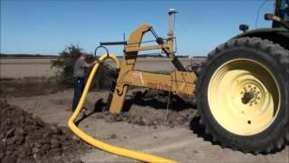 Mounted Tile Plow