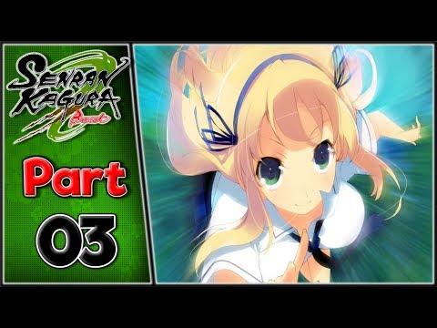 Let's Play: Senran Kagura: Burst - Part 3 [Adrenaline Rush]
