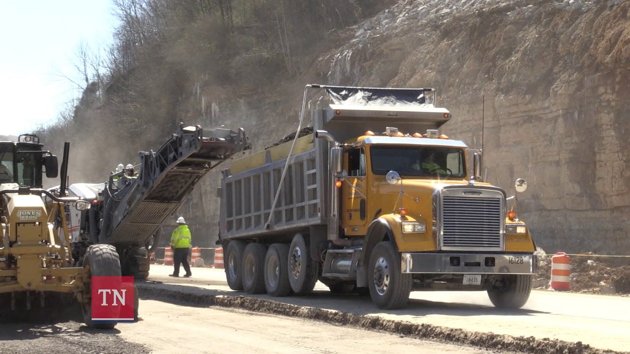 TDOT Update on I-24 Eastbound Slide in Davidson County