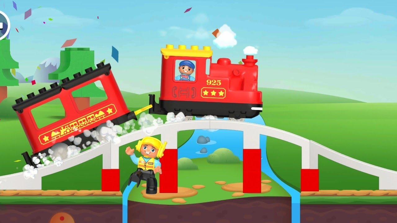 Lego kereta api Indonesia | permainan lego - YouTube