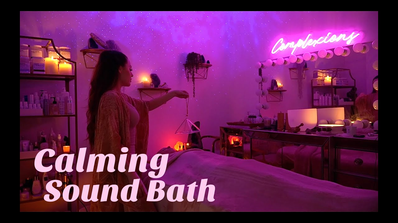 {ASMR} Endorphin Release Sound Healing for Anxiety, Stress & Sleep! Manifest Miracles!