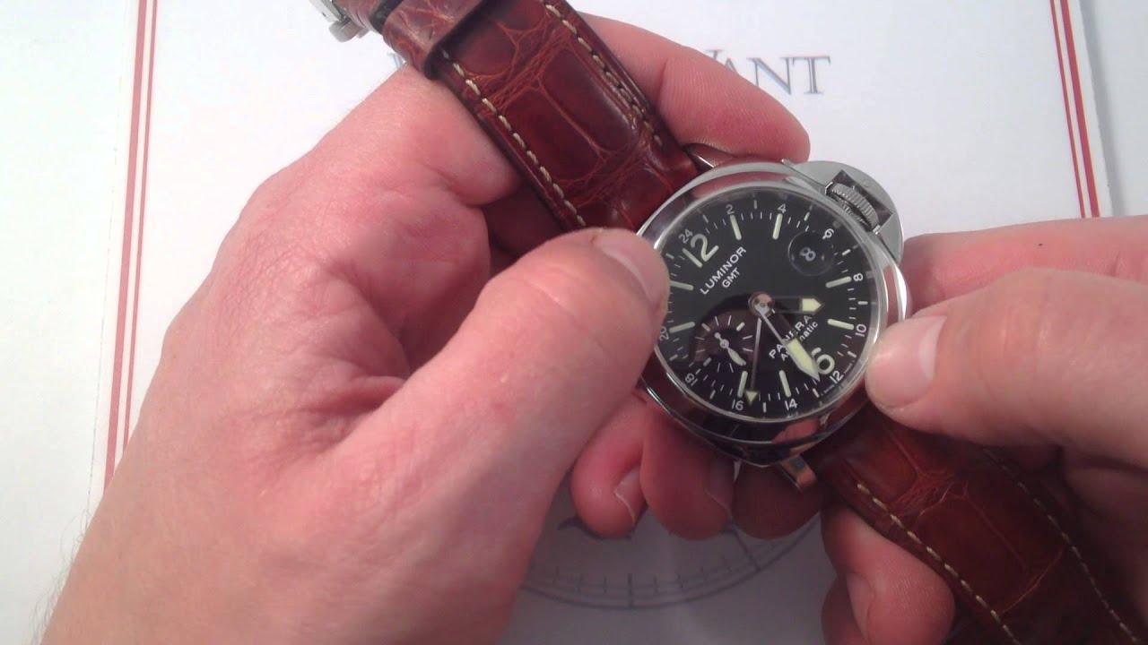 354ea0260d21 Panerai Luminor GMT PAM 237 Luxury Watch Review - YouTube