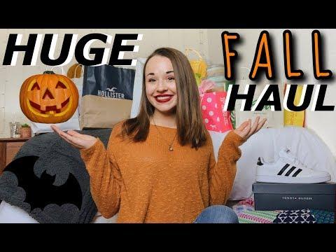 HUGE Fall Haul | American Eagle, Aerie, Hollister, Forever 21, + More!!