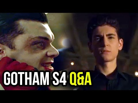 Two-Face Backstory in S5? Where is Ivy? Plus Much More! - Gotham S4 Q&A Part 1