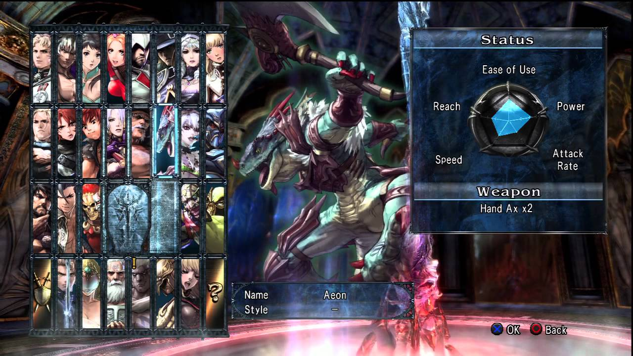 Soul Calibur V All Playable Characters (No DLC) - YouTube