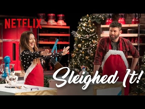 Ashley Tisdale Competes in Holiday Baking Challenge | Sleighed It Ep 1 | Netflix