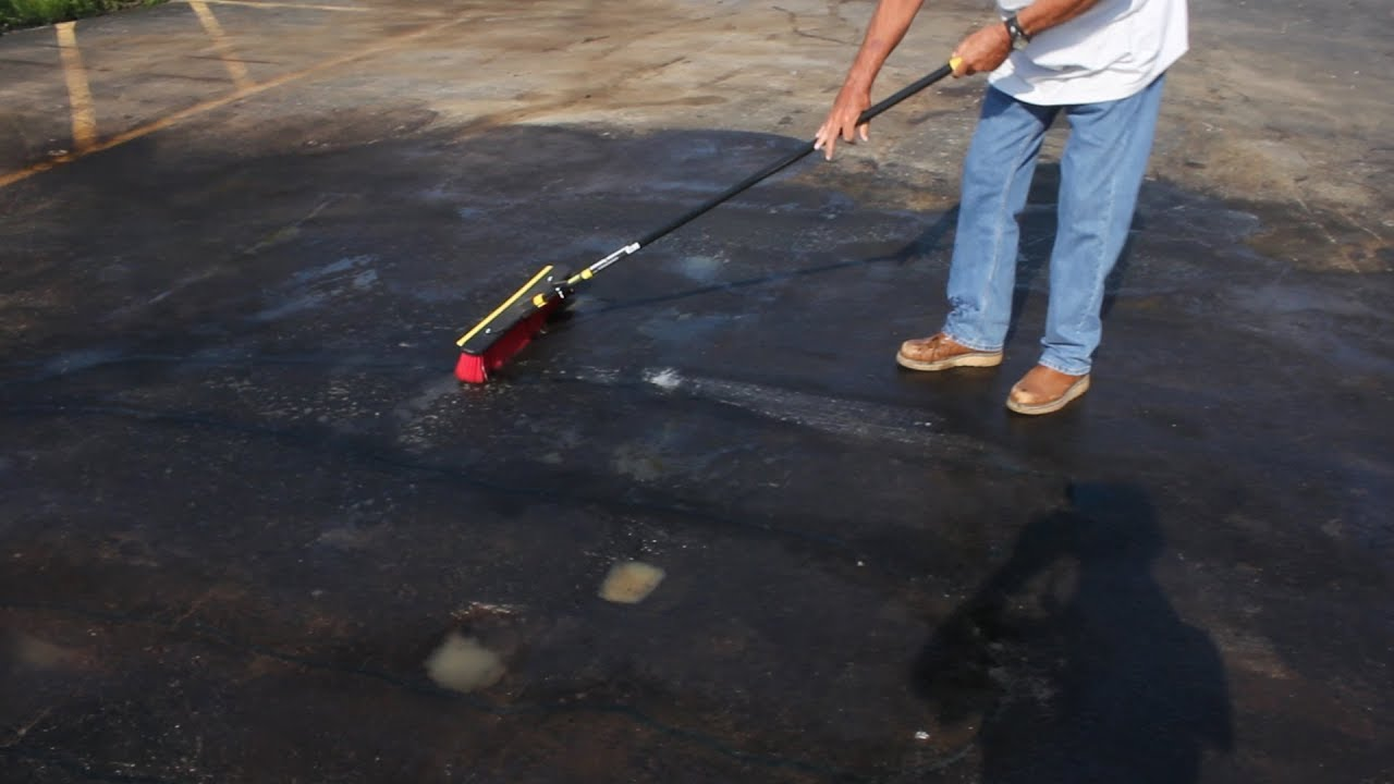 How To Clean Bad Oil Stains On Asphalt