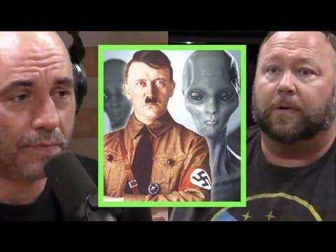 Alex Jones - The Nazi&39;s Made Contact with Aliens  Joe Rogan