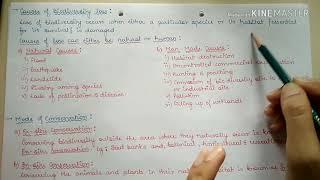 Biodiversity ( part-9 Environmental Science)