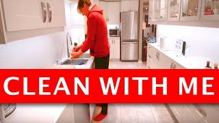 CLEAN WITH ME: Night Time Cleaning Routine (Cleaning Motivation 2018)