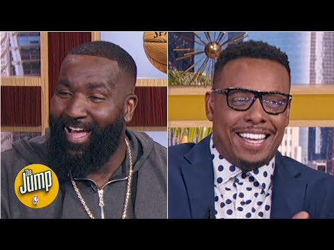 Kendrick Perkins' hilarious Kobe Bryant trash talk story | The Jump