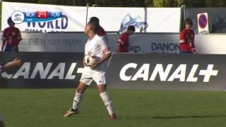 Morocco vs Tunisia - Ranking match 9/12 - Full Match - Danone Nations Cup 2016