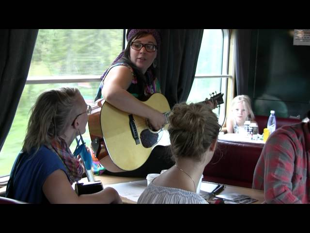2012-09-09 the Chickpeas band på SJs nattåg 92