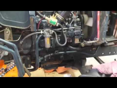 Kubota B8200 Fuel Pump Problem Solved  YouTube
