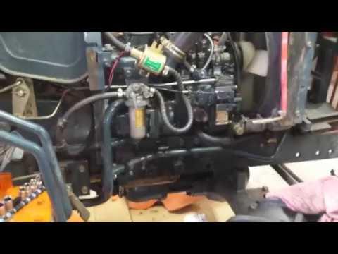 Kubota B8200 Fuel Pump Problem Solved
