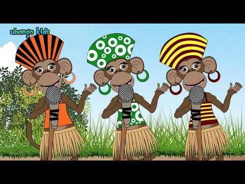 The Five Senses Song!   Ubongo Kids   African Animation