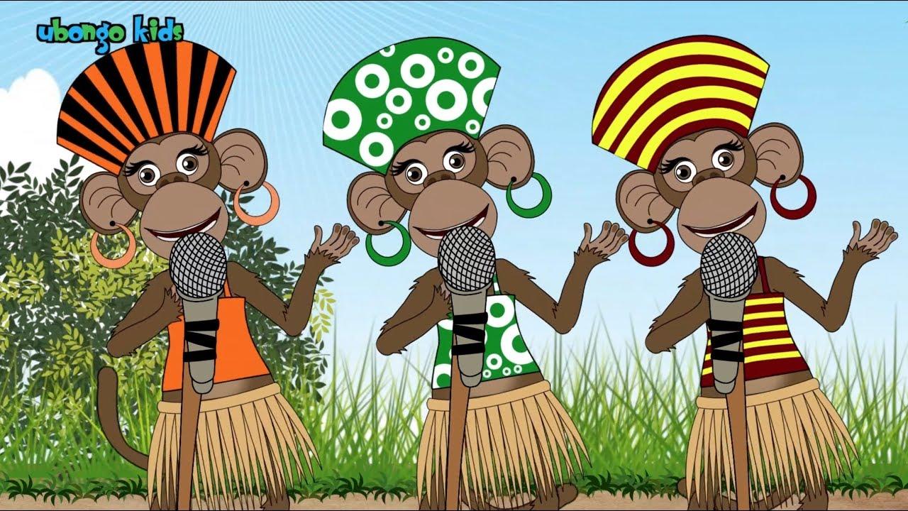 The Five Senses Song! | Ubongo Kids | African Animation