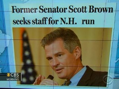 Headlines: Fmr. Sen. Scott Brown exploring New Hampshire Senate bid