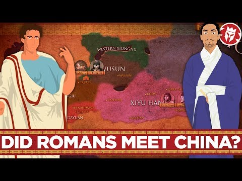 Roman-Chinese Relations and Contacts