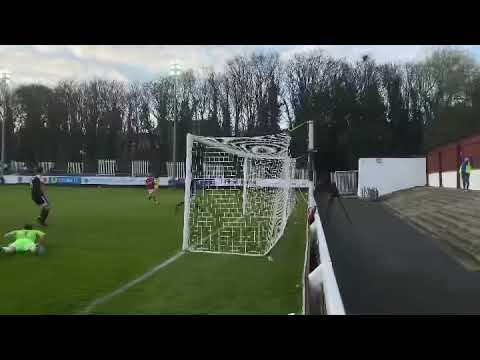 18-Year-Old Burns Scores First Senior League Goal!