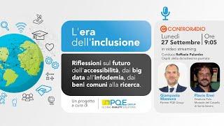 L'era dell'inclusione – Puntata 18 – 27 settembre 2021