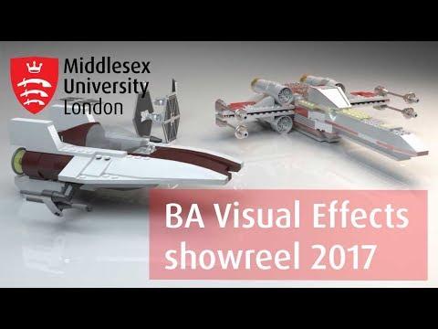 BA Visual Effects Showreel 2017 - YouTube