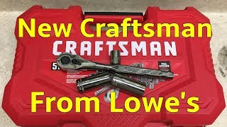 Review: New Craftsman tool set from Lowe's made by Stanley
