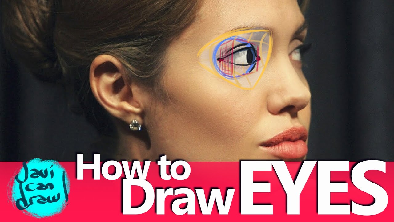 Using Angelina Jolie's Eyes To Understand How To Draw Eyes