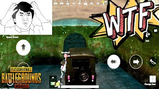 PUBG Mobile | Riding Vehicles in The Tunnels Of Erangel | WTF Challenge